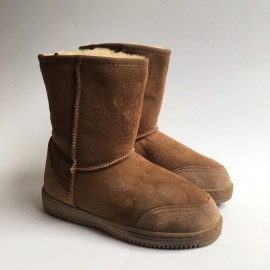 New Zealand Boots Short cognac OUTLET