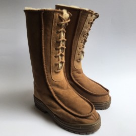 New Zealand Boots Kosak lace cognac outlet