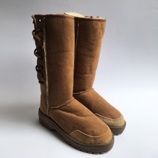 New Zealand Boots Lace boot cognac outlet
