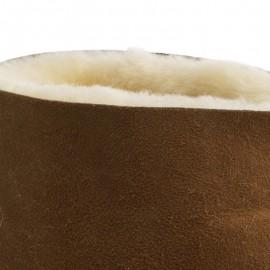 New Zealand Boots Lammeskind kort uld cognac