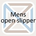 Open slipper