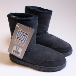 New Zealand Boots Short NAVY OUTLET