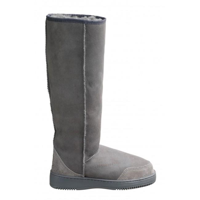 New Zealand Boots Tall light grey