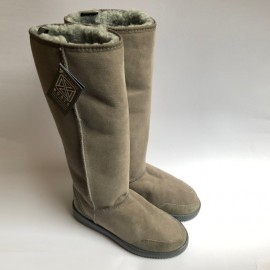 New Zealand Boots Tall dark grey outlet